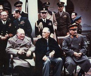 4 февраля 1945 года в Ялте состоялась Крымская конференция