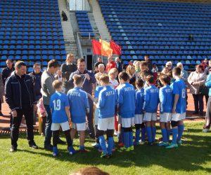 Юные ялтинцы сразились на футбольном поле в честь 5-летия воссоединения Крыма с Россией