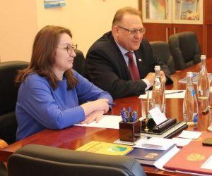 Роман Деркач и Алексей Челпанов провели рабочую встречу с председателями Контрольно-счётных палат Волгограда и Ялты