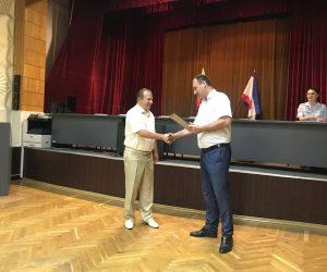 Генерального директора  СТУДИИ ЯЛТА ТВ Юрия Андрущенко наградили  Благодарностью