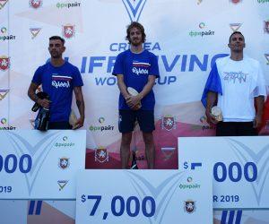 В Симеизе в третий раз прошел Кубок мира по клифф-дайвингу