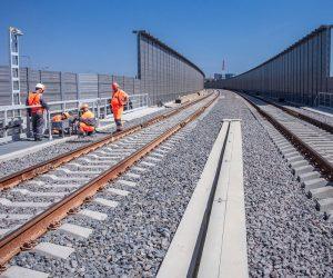 По Крымскому мосту проехал первый поезд — видео
