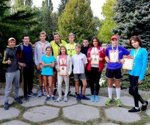 Ялтинские легкоатлеты приняли участие в Чемпионате и первенстве Республики Крым по кроссу