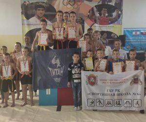 Спортсмены Ялтинской Федерации сумо на республиканском турнире завоевали рекордное количество наград