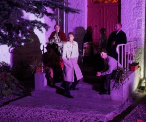 Белая дача предоставила возможность своим гостям стать героями театральной постановки по произведениям А.П. Чехова