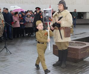 Ялтинцы приняли участие в Дне Неизвестного Солдата