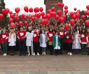 В Ялте состоялись акции «День донора» и «СТОП ВИЧ/СПИД»
