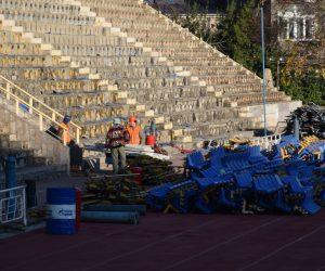 В Ялте на стадионе «Авангард» началась реконструкция