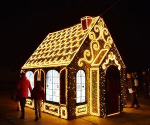 На набережной Ялты торжественно запустили праздничную иллюминацию