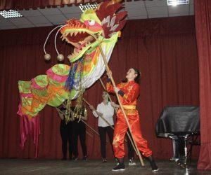 В Ялте студенты Гуманитарно-педагогической академии отпраздновали Китайский Новый год