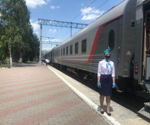 Первый поезд из Кисловодска прибыл в Крым