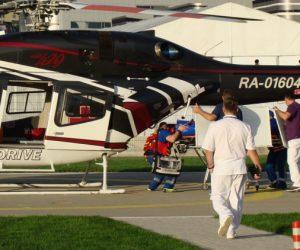 На территории Крыма построят 20 вертолетных площадок для санавиации