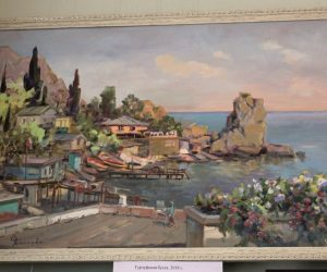 В Литературно-мемориальном доме-музее Н.З. Бирюкова открылась выставка картин Светланы Бакаевой «Душа Тавриды»