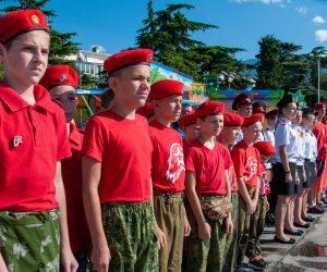 В Ялте стартовал Молодёжный межрегиональный патриотический яхтенный поход «Юнармейская Миля — 2020»