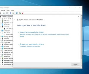 Windows 10 лишилась функции обновления драйверов через «Диспетчер устройств»