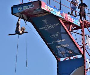 На набережной Ялты состоялся Кубок мира по хай-дайвингу