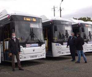 Крым получил более 400 новых автобусов