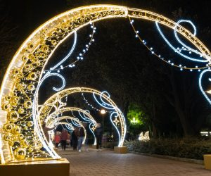 На этой неделе в Ялте начнется монтаж праздничного оформления и световой иллюминации к Новому году и Рождеству
