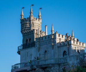 Реставрация замка Ласточкино гнездо фактически завершена