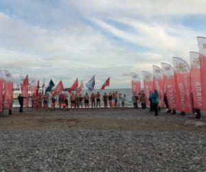 В Ялте прошел этап «Черноморской эстафеты Победы»