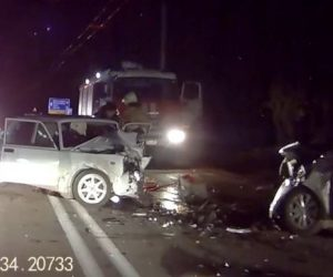 В массовом ДТП под Ялтой пострадали два человека