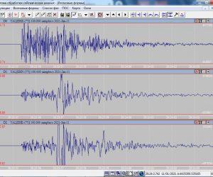 В районе Ливадии произошло два землетрясения
