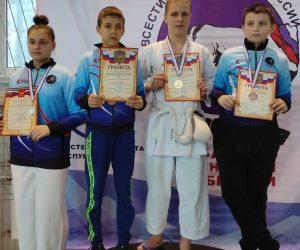Ялтинцы завоевали медали в Кубке Крыма по всестилевому каратэ