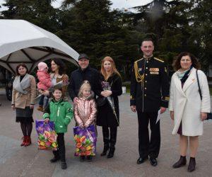 В Ялте поздравили детей – ровесников «Крымской весны»