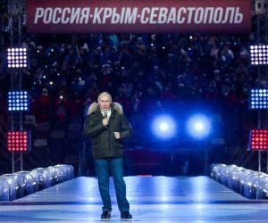 «Святая земля для России». Путин поздравил россиян с годовщиной возвращения Крыма