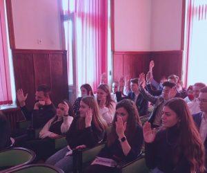 В Ялте состоялось первое заседание Совета ученического самоуправления