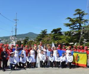 Ялта встретила Молодёжный межрегиональный патриотический яхтенный поход «Юнармейская Миля -2021»