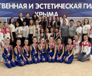 Состоялся открытый турнир по эстетической гимнастике «Свентана»