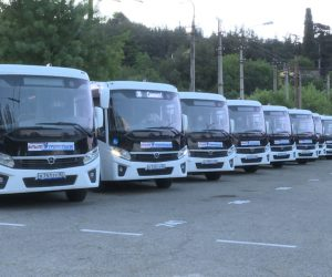 «Крымтроллейбус» закупил для Ялты 28 новых автобусов