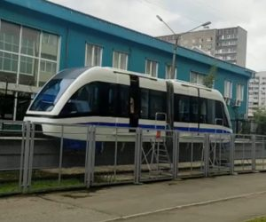 В России начаты испытания поезда с технологией магнитной левитации