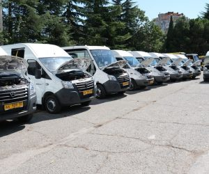 Новые автобусы выйдут на 4 ялтинских маршрута